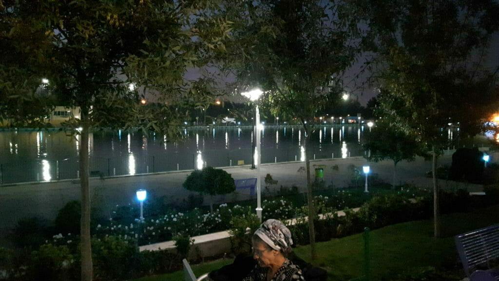 Abendstimmung im Ghadir Park